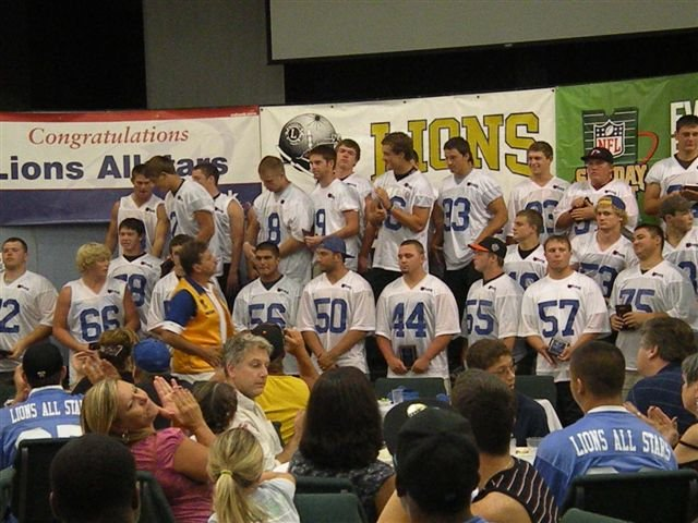 Lions All-Star Football 201154