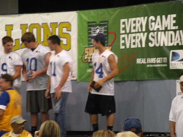 Lions All-Star Football 201162